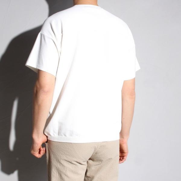 ラッピンノット Tシャツ WRAPINKNOT ニットTシャツ OFFWHITE オフホワイト 2019春夏新作 charger 02