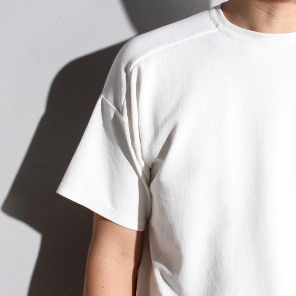 ラッピンノット Tシャツ WRAPINKNOT ニットTシャツ OFFWHITE オフホワイト 2019春夏新作 charger 03