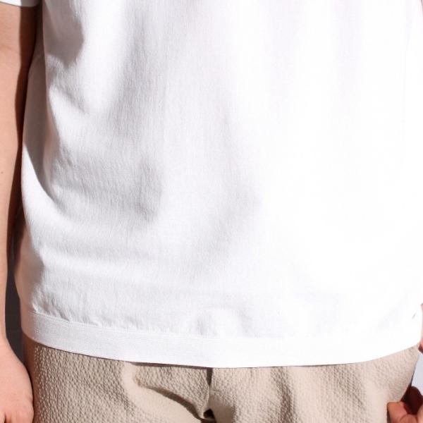 ラッピンノット Tシャツ WRAPINKNOT ニットTシャツ OFFWHITE オフホワイト 2019春夏新作 charger 04