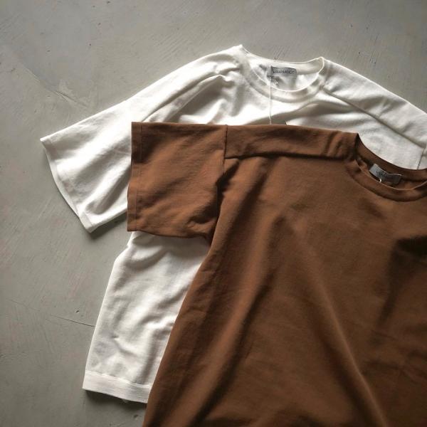 ラッピンノット Tシャツ WRAPINKNOT ニットTシャツ OFFWHITE オフホワイト 2019春夏新作 charger 06