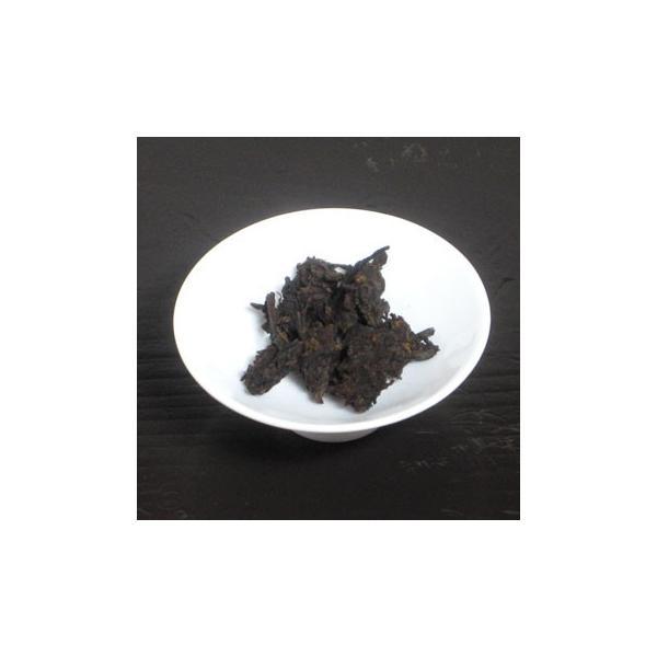 七五六二熟茶磚2006年 40g|chasyu-charaku|03