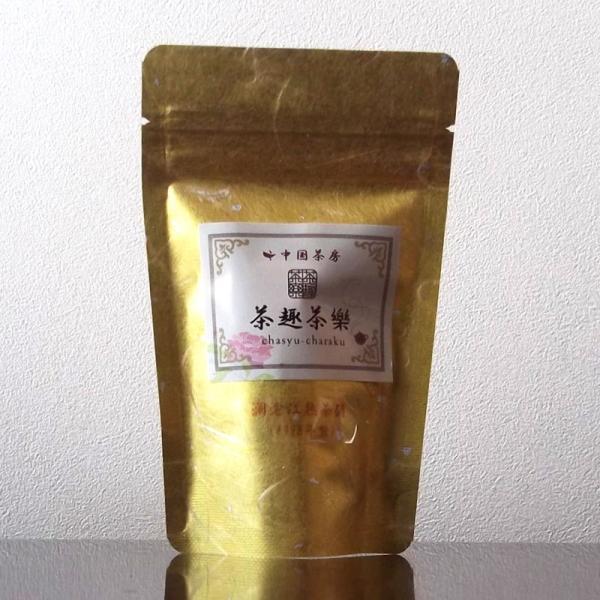瀾滄江熟茶磚1995年 30g|chasyu-charaku|06