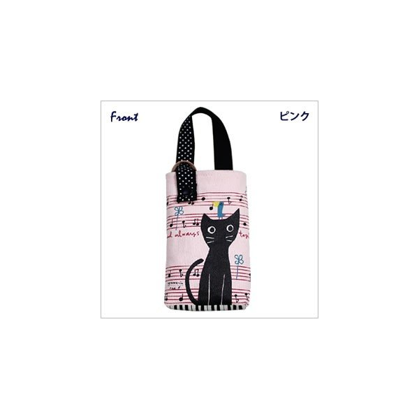 [ネコポスorゆうパケット可] モバイルケース (ノアファミリー猫グッズ ネコ雑貨 ねこ柄)  051-A562|chatty-cloth|06