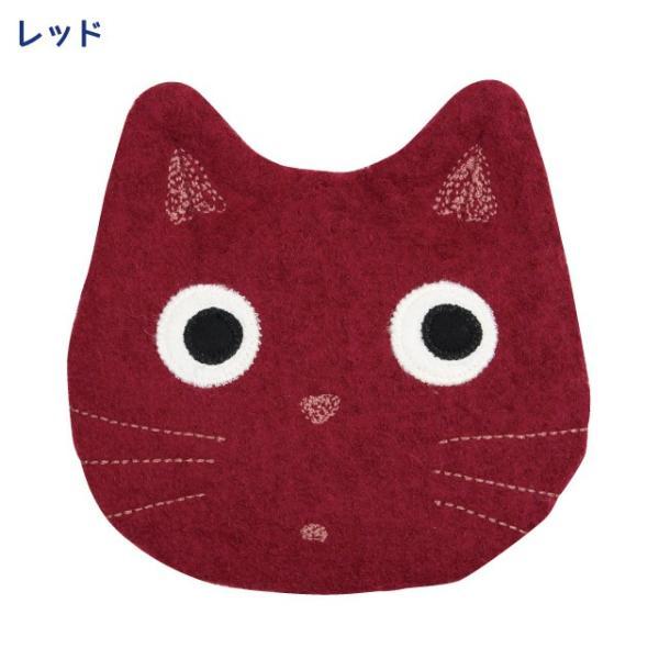 [ネコポスorゆうパケット可] 秋たま2チャームポーチ(ノアファミリー 猫グッズ ネコ雑貨 ポーチ ねこ柄) 051-A814|chatty-cloth|02