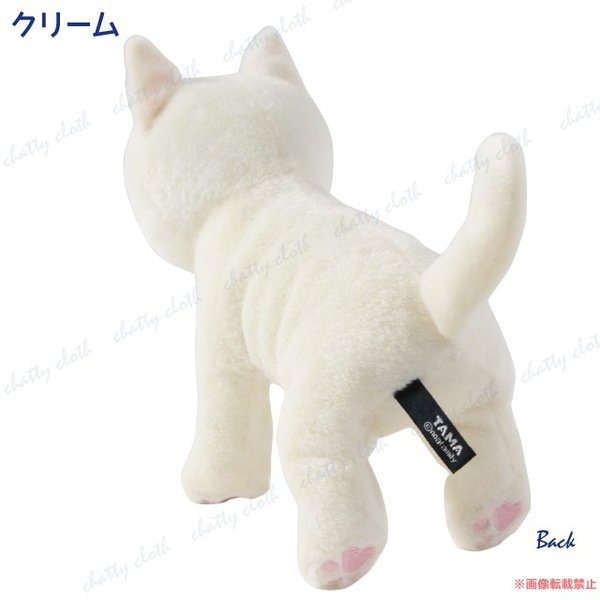 たまちゃん ぬいぐるみ (ノアファミリー 猫グッズ ネコ雑貨 ぬいぐるみ ねこ柄) 051-C201 chatty-cloth 05