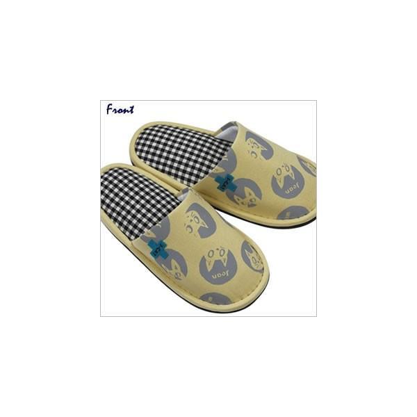 J-CAT+スリッパ (ノアファミリー猫グッズ ネコ雑貨 ねこ柄)  051-H225 chatty-cloth 02