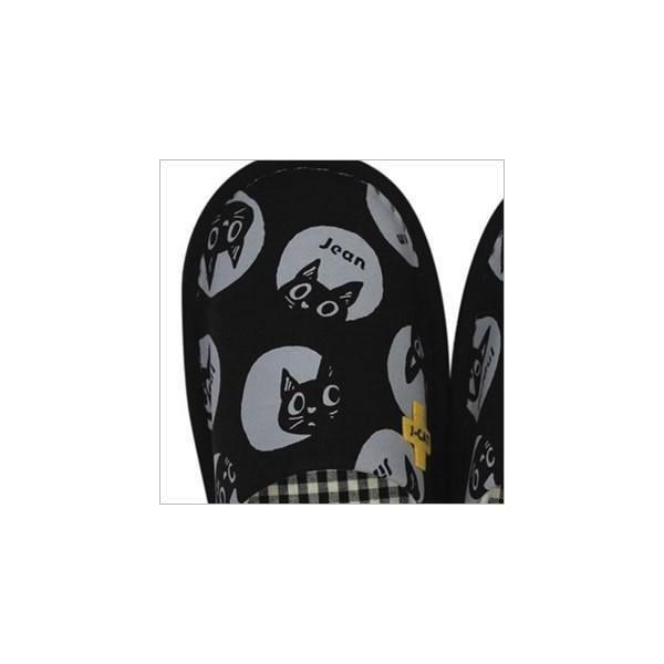 J-CAT+スリッパ (ノアファミリー猫グッズ ネコ雑貨 ねこ柄)  051-H225 chatty-cloth 03