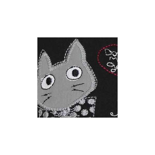 ドレミジーンスリッパ (ノアファミリー猫グッズ ネコ雑貨 ねこ柄)  051-H242 2016AW chatty-cloth 02