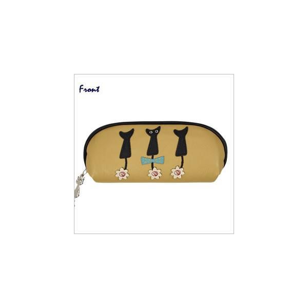 リボンテール メガネケース (ノアファミリー猫グッズ ネコ雑貨 ねこ柄)  051-J465|chatty-cloth|02