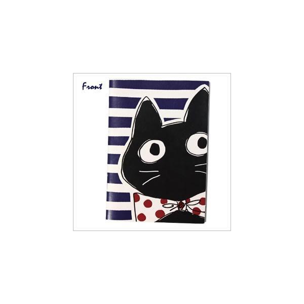 [ネコポスorゆうパケット可] ラブリージーンノート(B7サイズ) (ノアファミリー猫グッズ ネコ雑貨 ねこ柄)  051-P163|chatty-cloth|02