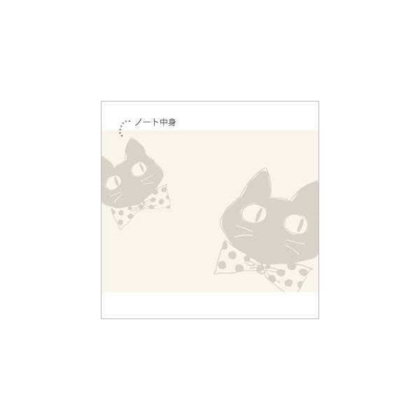 [ネコポスorゆうパケット可] ラブリージーンノート(B7サイズ) (ノアファミリー猫グッズ ネコ雑貨 ねこ柄)  051-P163|chatty-cloth|04