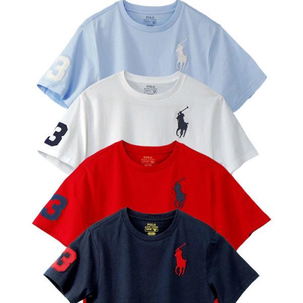 ポロ ラルフローレン Tシャツ 半袖 クルーネック ビッグポニー 刺繍 POLO Ralph Lauren Boy's 2019  春 メンズ レディース ボーイズ   #323703646 cheap-tock 06