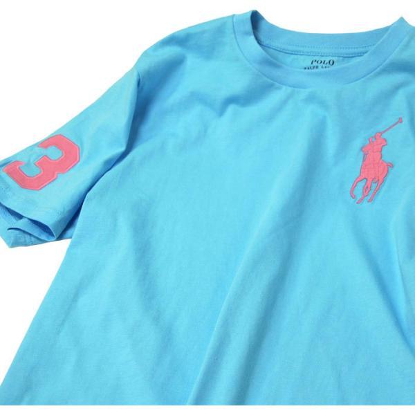 ポロ ラルフローレン Tシャツ 半袖 クルーネック ビッグポニー 刺繍 POLO Ralph Lauren Boy's 2019  春 メンズ レディース ボーイズ   #323703646 cheap-tock 08
