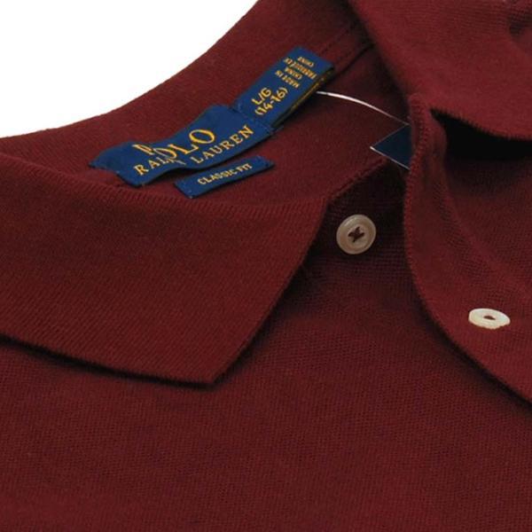 ポロ ラルフローレン  POLO Ralph Lauren Boys  ビッグポニー 長袖 鹿の子ポロシャツ 定番   #323703636|cheap-tock|08