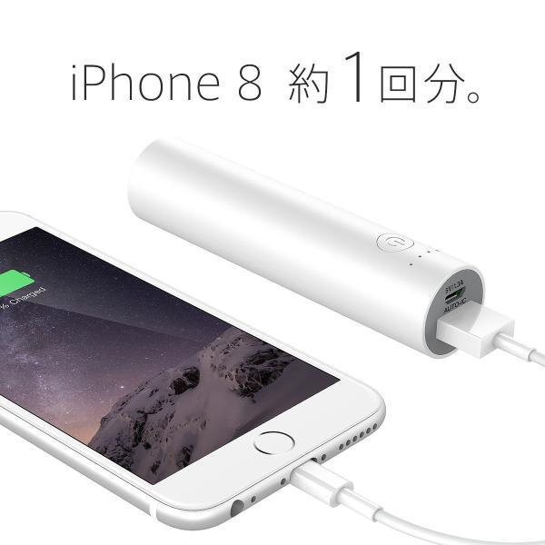 モバイルバッテリー iPhone / iPad / Android 超コンパクト チーロ cheero Power Plus 3 stick 3350mAh 急速充電 対応|cheeromart|03