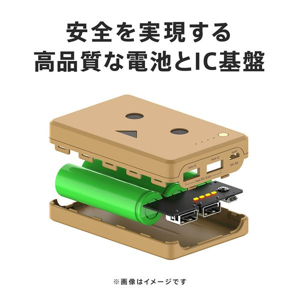 モバイルバッテリー iPhone / iPad / Android 大容量 チーロ ダンボー キャラクター cheero Power Plus 10050mAh DANBOARD 急速充電 対応|cheeromart|03