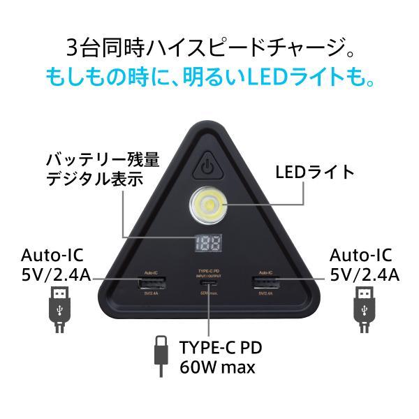 モバイルバッテリー iPhone / iPad / Android 超大容量 チーロ cheero Power Mountain 50000mAh Power Delivery USB Type C 入出力口搭載 急速充電 対応|cheeromart|04