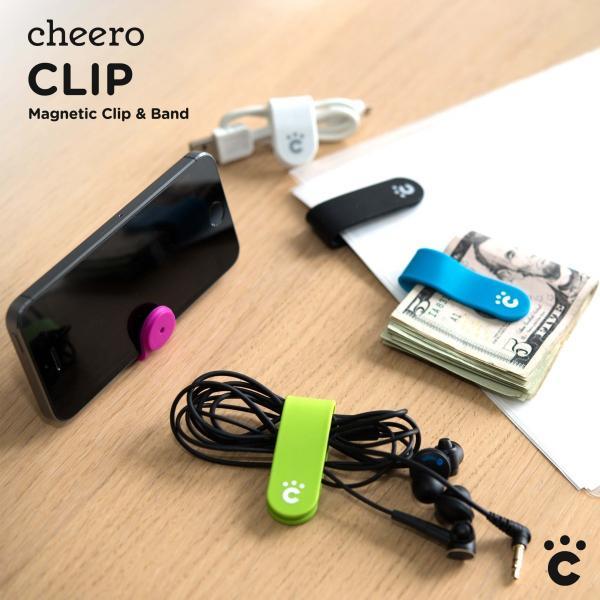万能クリップ シリコン 便利グッズ チーロ cheero CLIP (5色セット)|cheeromart|05