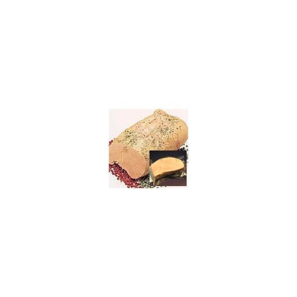 フォアグラスモーク 100g×4個 冷凍 【送料無料】カナッペ用角せんべいのオマケ付き フュメドフォアグラ  切るだけでオードブル 母の日/父の日/敬老の日/