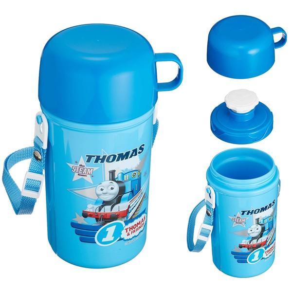きかんしゃトーマス グッズ 機関車トーマス ショルダー冷水筒 450ml (wb1454)|chericoshop|02