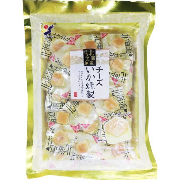 北海道仕込み やわらかチーズいか燻製 120g チーズ イカ いか おつまみ つまみ 酒のつまみ やわらかチーズイカ 山栄食品工業 燻製 やわらかチーズいか