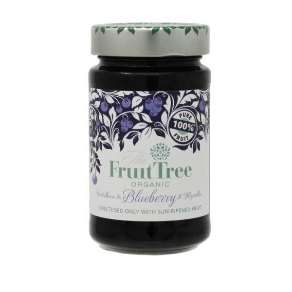 有機ブルーベリースプレッド (Fruit Tree社) J21 (250g) /アリサン Alishan  無添加・有機JAS・無漂白・オーガニックなどのドライフルーツやナッツ、食材が…