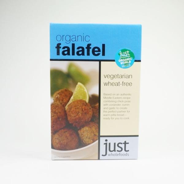 有機ファラフェルミックス K10 (120g) /アリサン Alishan  無添加・有機JAS・無漂白・オーガニックなどのドライフルーツやナッツ、食材が多数