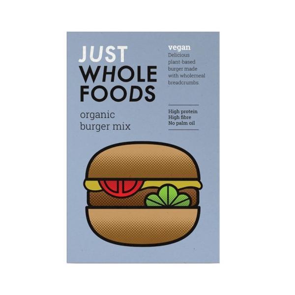 有機ベジタリアンバーガーミックス K14 (125g) /アリサン Alishan  無添加・有機JAS・無漂白・オーガニックなどのドライフルーツやナッツ、食材が多数