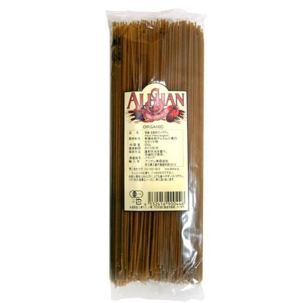 全粒スパゲティ M65 (500g) /アリサン Alishan  無添加・有機JAS・無漂白・オーガニックなどのドライフルーツやナッツ、食材が多数