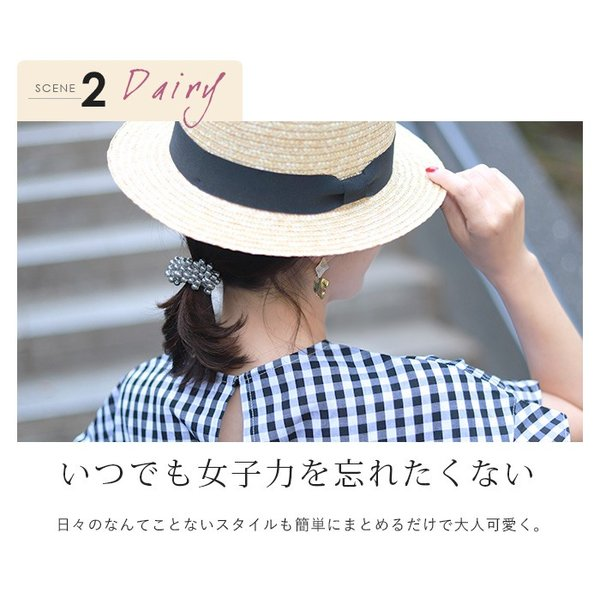 【SALE】ヘアゴム パール ホワイト 結婚式 パーティー ポイント消化 cherie-store 10