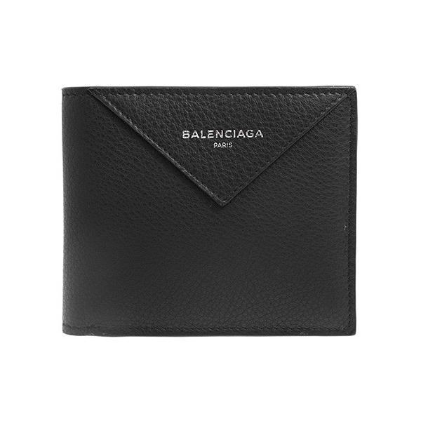 online store 50592 f616e バレンシアガ BALENCIAGA 財布 メンズ 二つ折り財布 ブラック 黒 PAPIER SQ C. WALLET 504550 DLQ0N  1000 NOIR