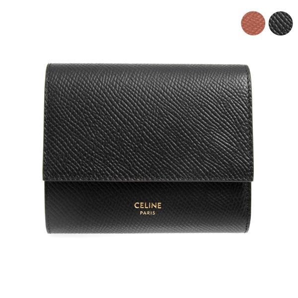 4ad70c02efc5 セリーヌ CELINE 財布 レディース 三つ折り財布 ブラック 黒 SMALL TRIFOLD 10B57 3BEL 38NO BLACKの