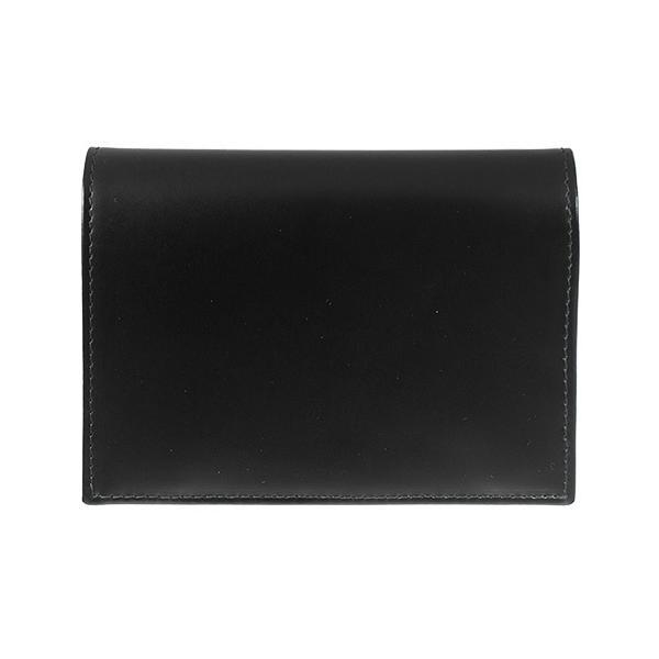 エッティンガー ETTINGER 財布 メンズ 二つ折り財布 ブラック 黒 ブライドルレザー PURSE NOTECASE WITH 4 C/C SLOTS BH179JR BLACK BRIDLE HIDE COLLECTION|chgardens|02