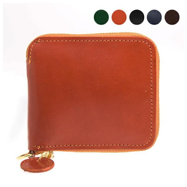 グレンロイヤル GLENROYAL 財布 ラウンドジップ二つ折り財布 ZIP AROUND WALLET 03-6156 全5色|chgardens
