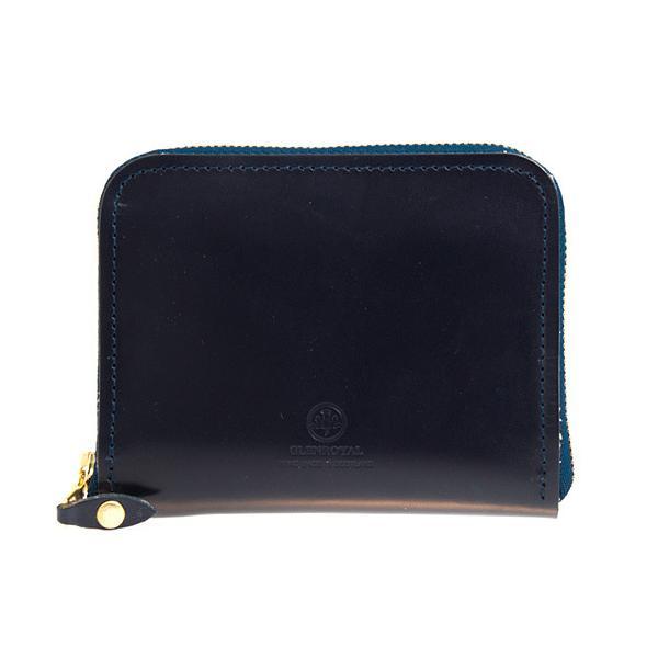 グレンロイヤル GLENROYAL 財布 メンズ ラウンドファスナー財布 ネイビー ZIP AROUND SMALL PURSE 03-6014 NAVY|chgardens