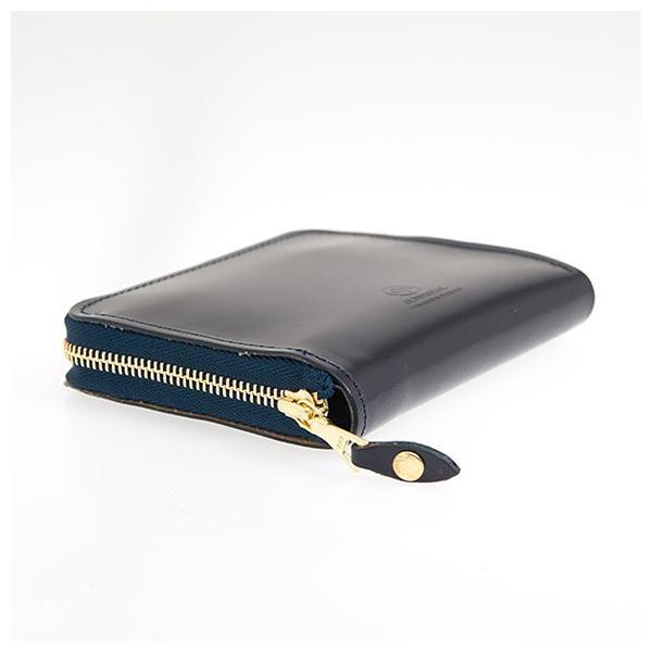 グレンロイヤル GLENROYAL 財布 メンズ ラウンドファスナー財布 ネイビー ZIP AROUND SMALL PURSE 03-6014 NAVY|chgardens|02