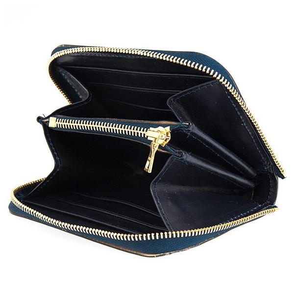 グレンロイヤル GLENROYAL 財布 メンズ ラウンドファスナー財布 ネイビー ZIP AROUND SMALL PURSE 03-6014 NAVY|chgardens|03