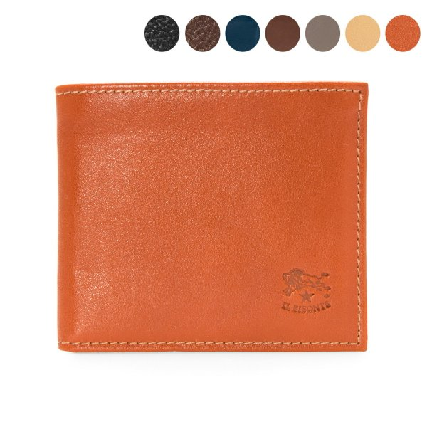 a109ab302699 イルビゾンテ IL BISONTE 財布 二つ折り財布(小銭入れ付) COWHIDE WALLET WITH COIN ...