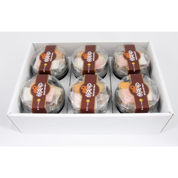 夏季限定商品 オランダ家 あんみつ 6個入 千葉 ギフト お菓子 詰め合わせ おもたせ お中元