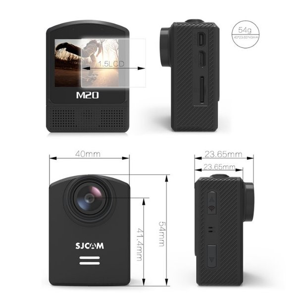 激安セール♪ 防水 アクションカメラ SJCAM 正規品 M20 予備バッテリープレゼント企画 リモコン対応 WiFi搭載 4K録画 手振れ補正 バイク ドライブレコーダー|chic|05