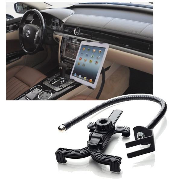 車載用 タブレットスタンド フレキシブルアーム シート固定式 くねくねタブレットホルダー iPad 7〜10.5インチ カー用品 ◇CHI-CZJJ15 chic 02