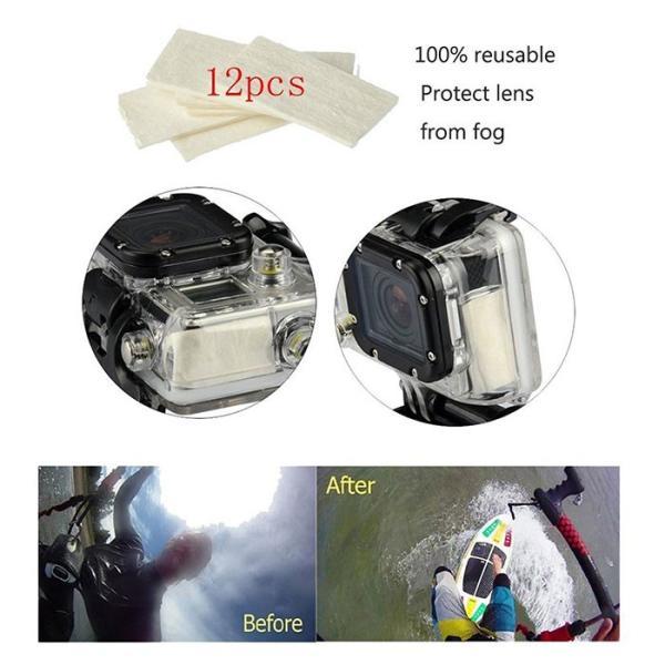 激安セール♪ SJCAM GoPro 対応 アクセサリー 49点セット アクションカメラ ウェアラブルカメラ HERO6 HERO5 M20 SJ4000 SJ5000 SJ5000X SJ6 SJ7 SJ8 GP-PARTS49|chic|05