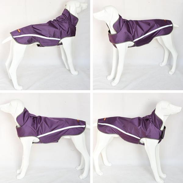 犬用レインコート ジャケット レインウェア マジックテープ 反射板 アウトドア 小型犬〜中型犬向け ペット用品 ◇CHI-VC-DRAIN|chic|03