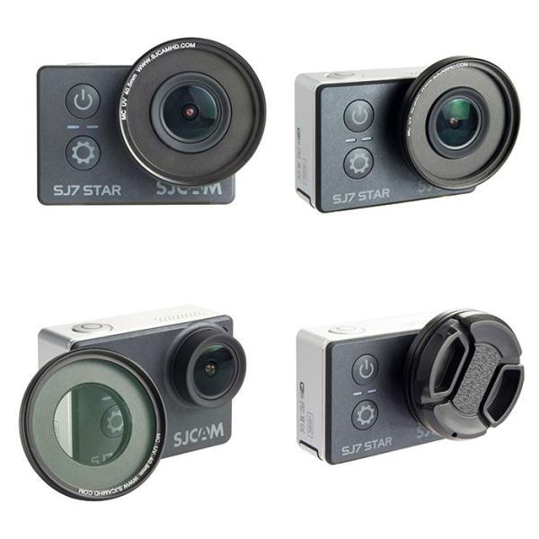 SJCAM SJ7 STAR用 UVプロテクターフィルター UV Filter キャップ レンズ 保護 直径40.5mm 公式 正規代理店取扱品   ゆうパケットで送料無料 ◇CHI-SJ7-UV|chic|03