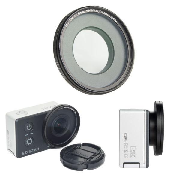SJCAM SJ7 STAR用 UVプロテクターフィルター UV Filter キャップ レンズ 保護 直径40.5mm 公式 正規代理店取扱品   ゆうパケットで送料無料 ◇CHI-SJ7-UV|chic|04