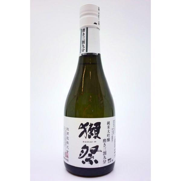 獺祭 純米大吟醸 磨き三割九分(箱無し) 300ml|chidoriya-saketen