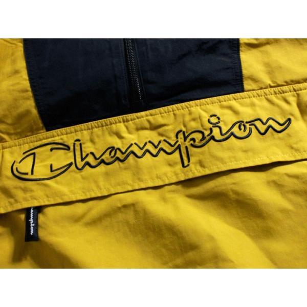 チャンピオン Champion アノラックパーカー ナイロンジャケット 撥水 キャメル マルチカラー 切替 chiki-2 06