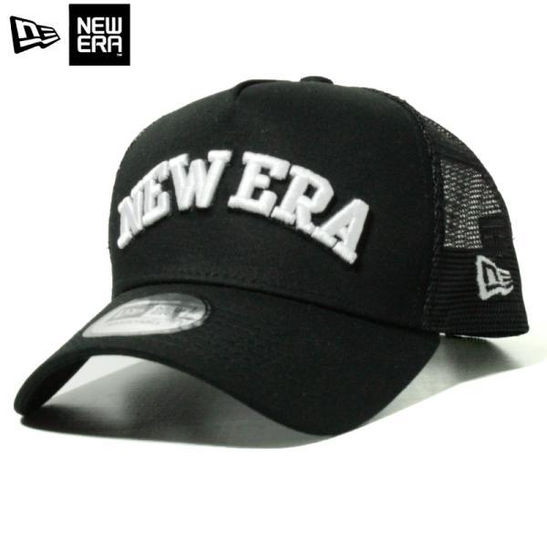 ニューエラ NEWERA メッシュキャップ Aフレーム ゴルフ GOLF 黒 ブラック