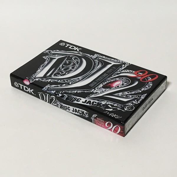 TDK ハイポジション(ハイポジ) オーディオカセットテープ DJ2 90分 DJ2-90A ※新古品
