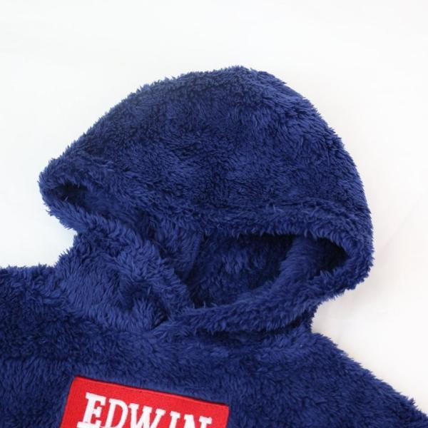 ベビー服 子供服 キッズ エドウイン エドウィン パーカー タオルフリース かぶり プルオーバー 男の子 トップス EDWIN 19冬|chil2|06